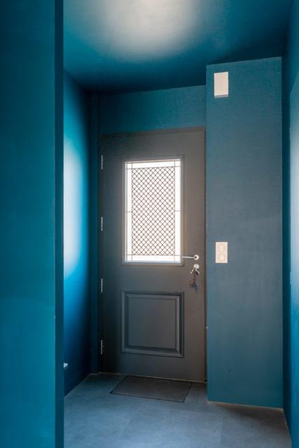 Porte d'entrée modèle blennie vue intérieure