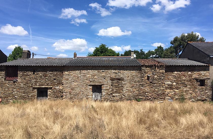 Vieille grange avant sa rénovation