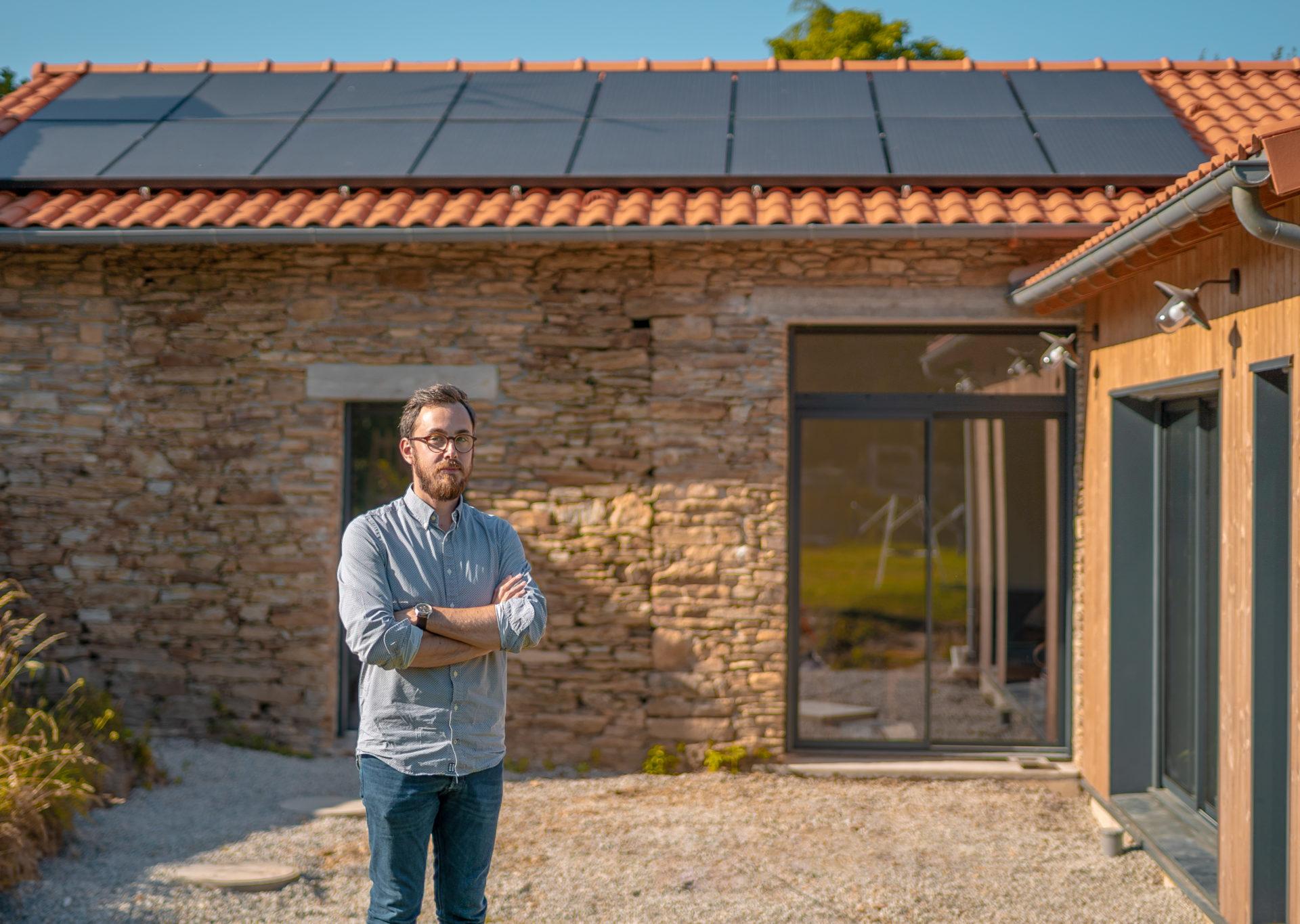 Le projet de rénovation de Simon fenêtre en aluminium