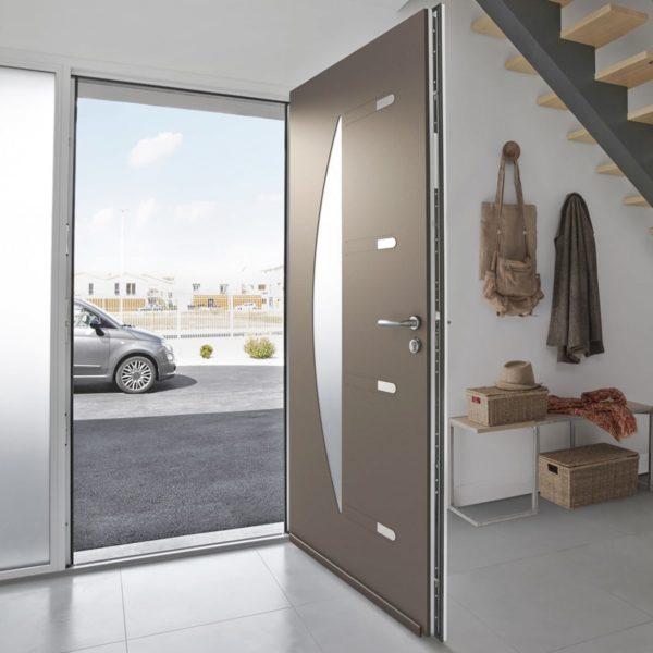 Koov porte entree aluminium orphie 80 03