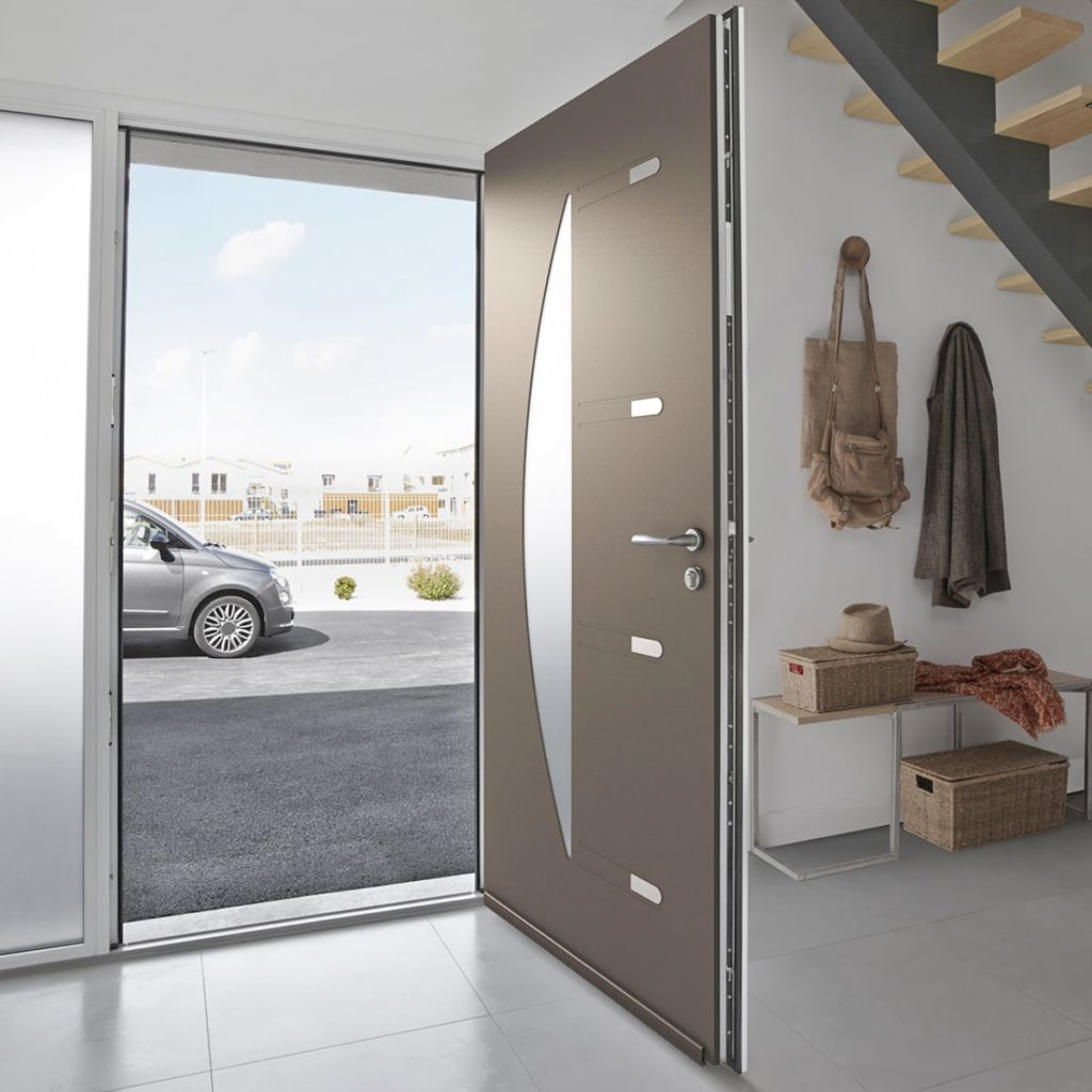 Koov porte entree aluminium orphie 80