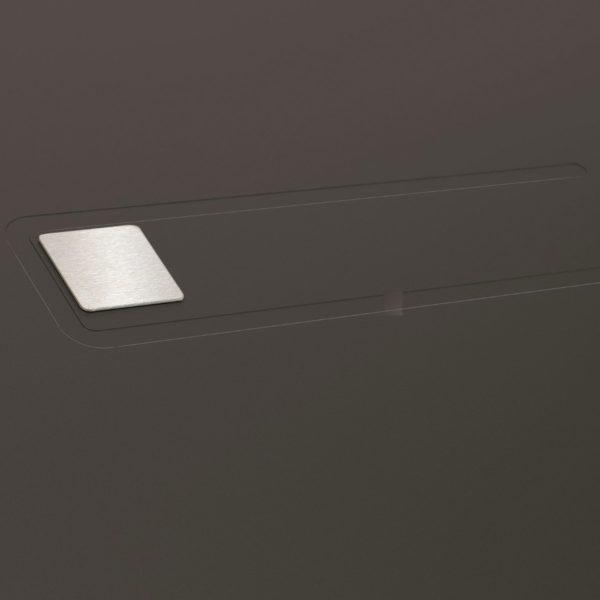 Koov porte entree aluminium girelle 80 03
