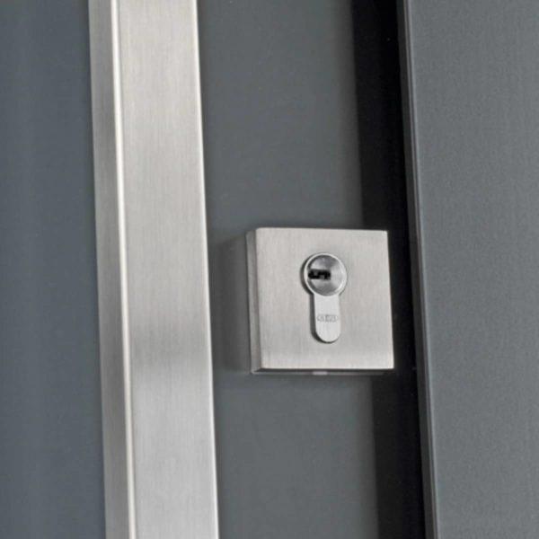 Koov porte entree aluminium glossy 80 05