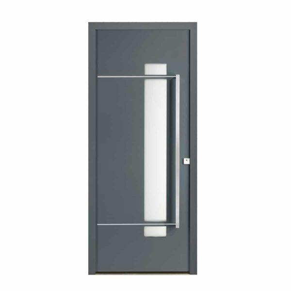 Koov porte entree mixte alu bois glossy 02