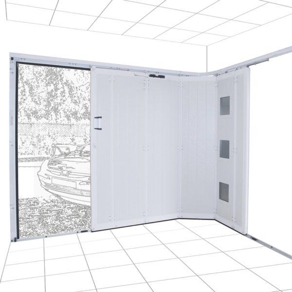Koov porte garage coulissante 03