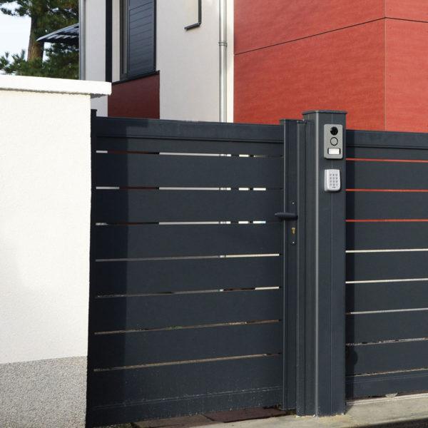 Portail aluminium ajoure maez 03