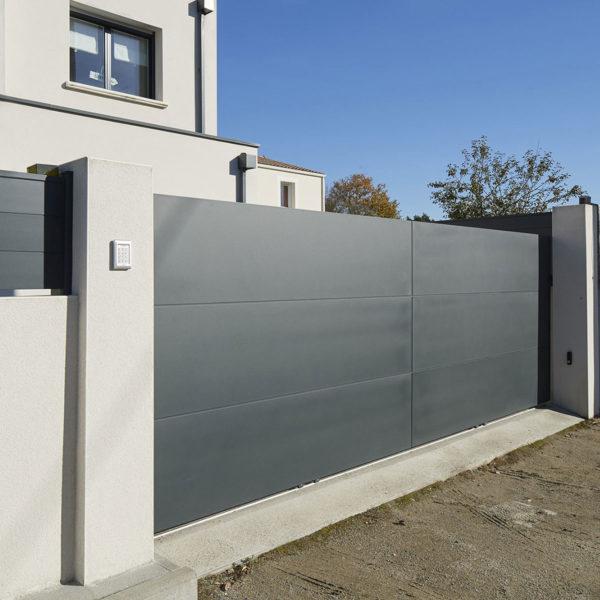 Portail aluminium ajoures klavel 02