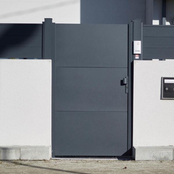 Portail aluminium ajoures klavel 05