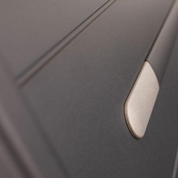 Portail aluminium plein zen 03
